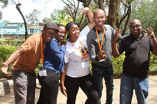 NetSquared Kenya Team at Storymakers Event. Photos by Chrispin Okumu | by net2photos