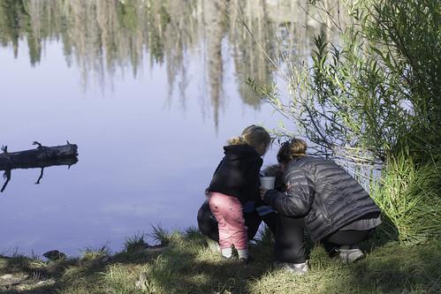 abbott adelynturner bigtrinitylake brennaabbott camping lake wright jessicawright