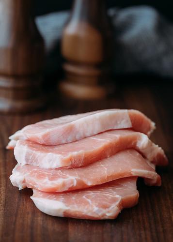 Thin, Center-Cut Loin Pork Chops | by Striped Spatula