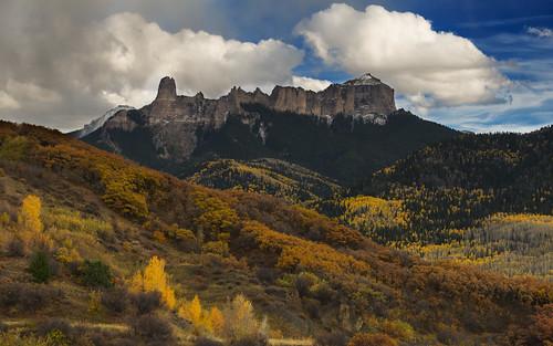courthouserock chimneyrock colorado fall fallfoliage fallcolors autumn rockymountains co08 forestroads