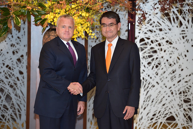 Deputy Secretary Sullivan Meets With Japanese Foreign Minister Kono in Tokyo