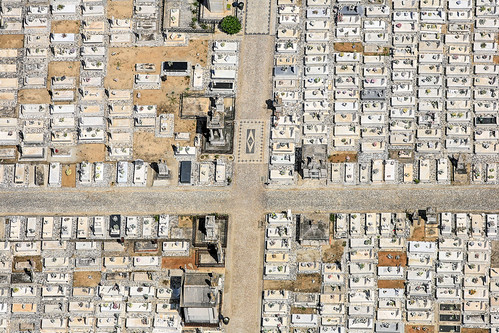 Cemetery In Moura, Portugal | by Aerial Photography