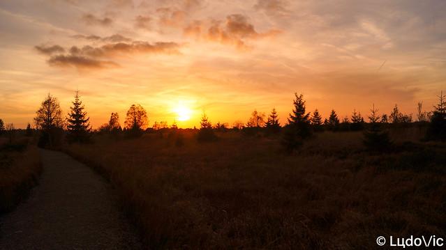 Coucher de soleil du 12 octobre 2017