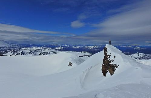 andes chile chilecentral regióndelaaraucanía volcán fotocumbre esquí ski skitour randonné cráter volcano volcanoe volcan volcánquetropillán parquenacional parquenacionalvillarrica ule