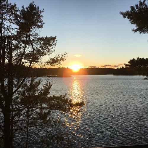 solnedgång kväll bergslagen vildmark närke natur bad ramsjön kilsbergen sunset