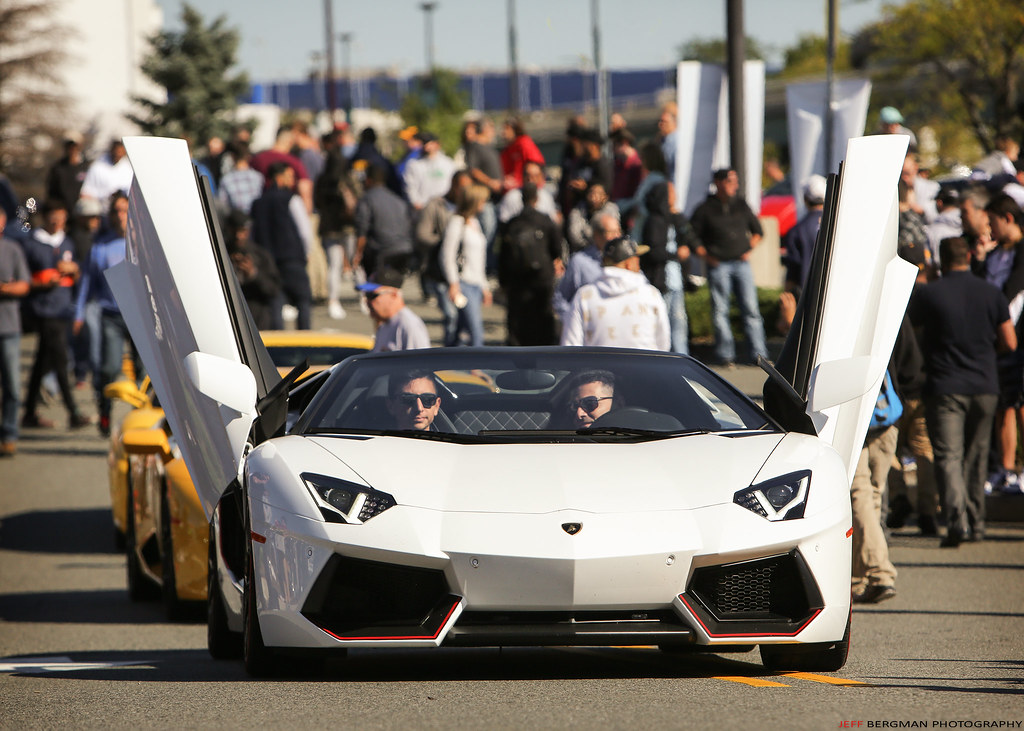 Doors Up On The Lamborghini Aventador Cars Caffe Gar Flickr
