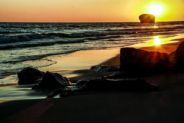 Bello atardecer. Beautiful sunset