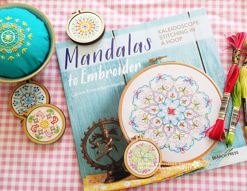 Cover - Mandalas to Embroider | by Carina » Polka & Bloom