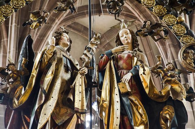 Veit Stoss: Annunciation / Annonciation (