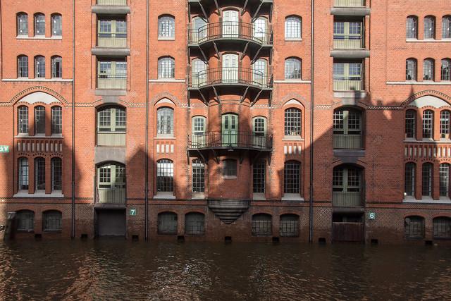 Hochwasser Wandrahmfleet