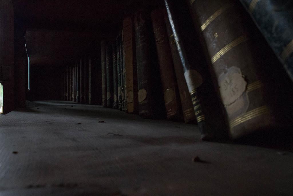 Dusty Bookshelf Marie Mx Flickr