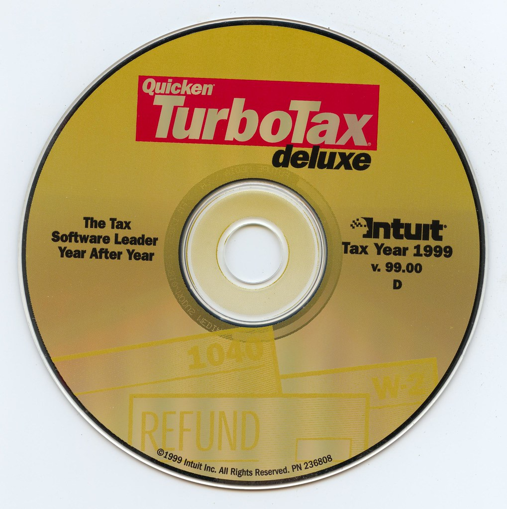 Quicken TurboTax Deluxe (Intuit)(v99 00D)(Tax Year 1999)(1