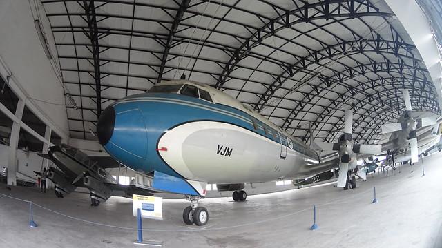 Lockheed L-188 Electra - Museu Aero Espacial do Campo dos Afonsos - Rio de Janeiro - Brasil
