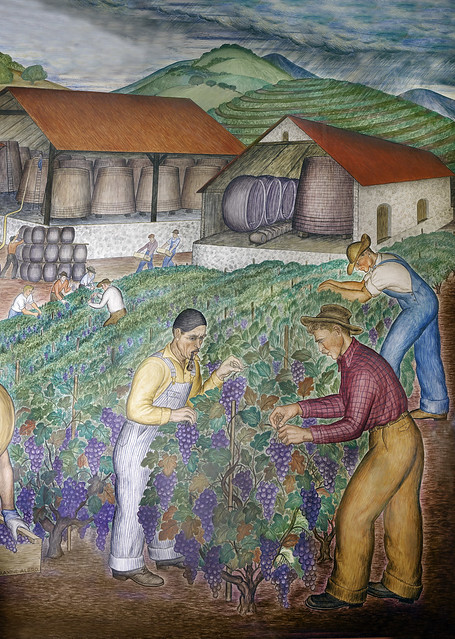 Coit_Murals • Agriculture Winery by Arbro