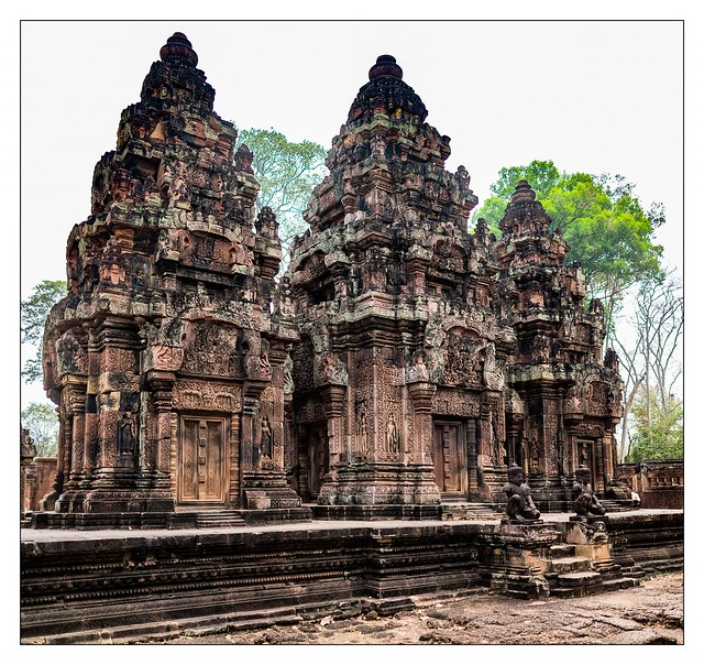 Banteay Srey temple Cambodia