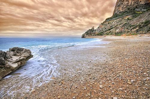 pabloarias photoshop photomatix nxd españa cielo nubes mar roca agua mediterráneo montaña costa acantilado arena benitatxell calamoraig alicante