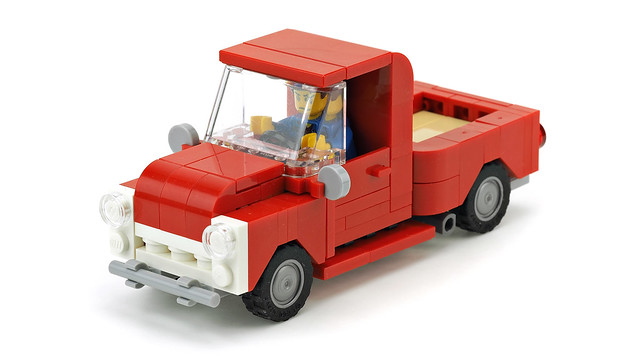 Red Pickup Truck