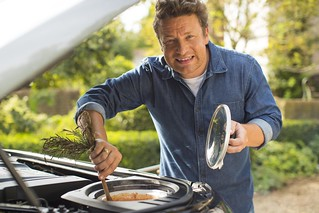 WHAT'S FOR DINNER? LAND ROVER'S DISCOVERY IS THE PERFECT RECIPE FOR JAMIE OLIVER'S DREAM KITCHEN-ON-THE-GO | by landrovermena