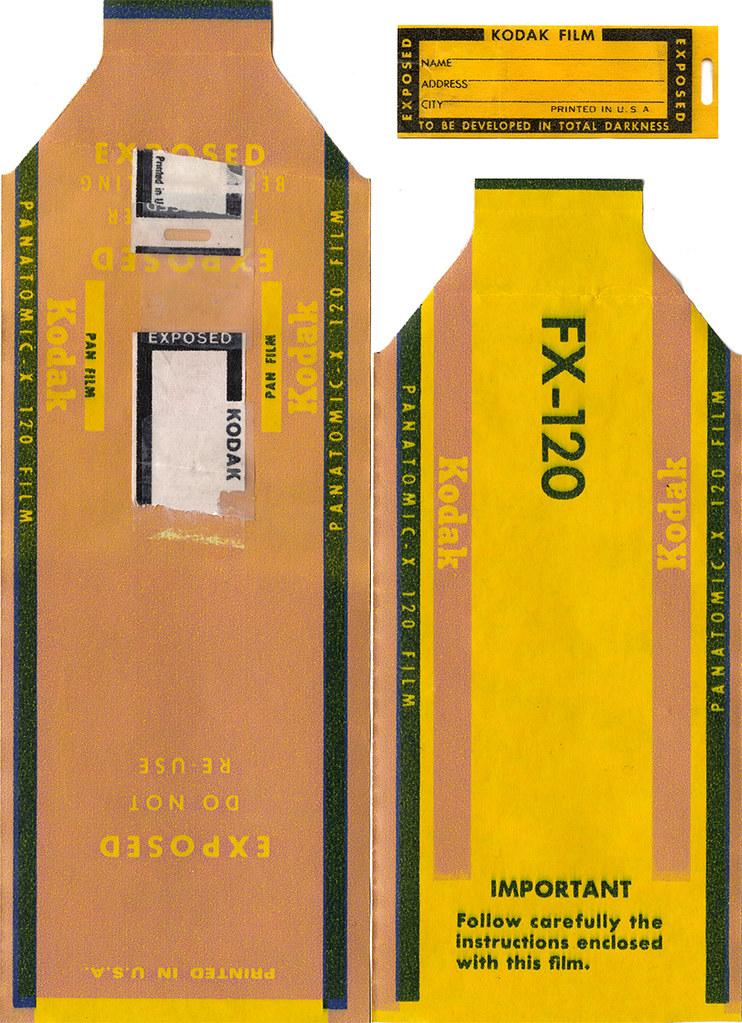 Kodak Panatomic-X 120 Film   Important Follow carefully the …   Flickr