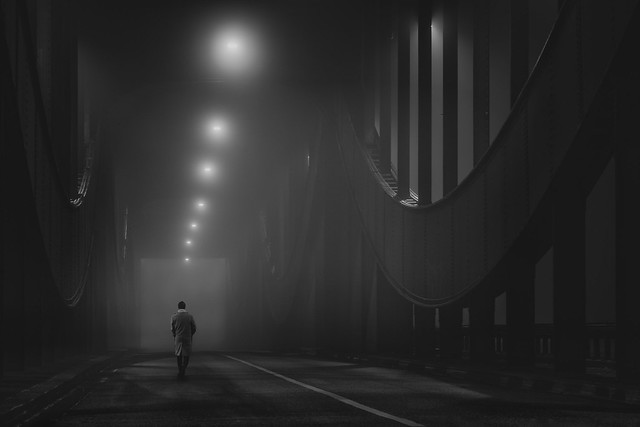 into the night II