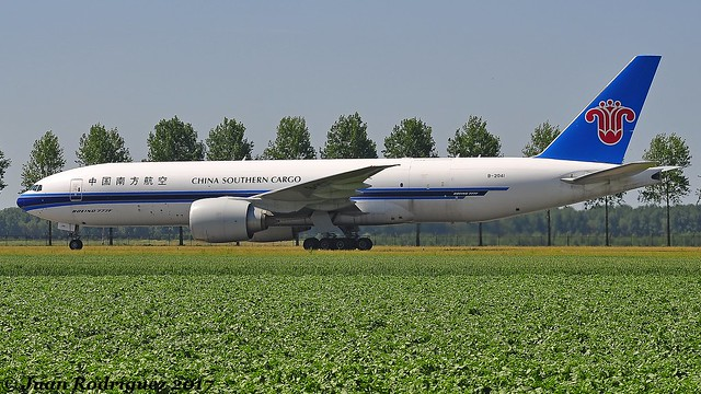 B-2041 - China Southern Airlines - Boeing 777-F1B - AMS/EHAM