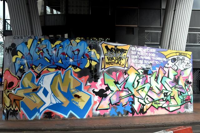 Street Art, Birmingham City Centre.