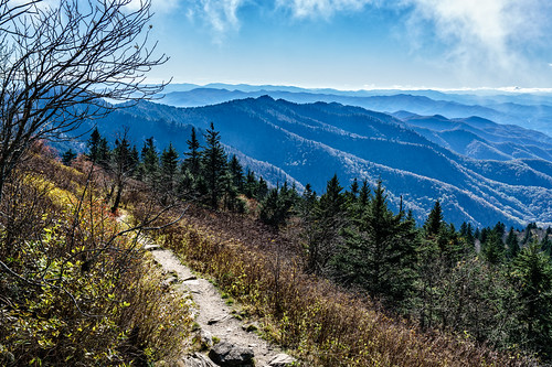 northcarolina mountains waterrockknobtrail blueridgeparkway appalachianmountains mountainrange sylva unitedstates us