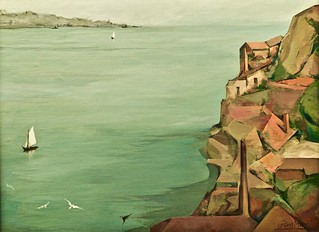 Lisbon and the Tagus River (1960) - Abel Manta (1888-1982) | by pedrosimoes7