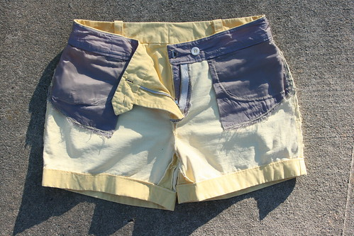 Thurlow Shorts in Tinted Denim | by patternandbranch