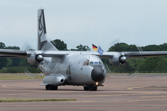 Transall C-160D 51+01 of the German Air Force in