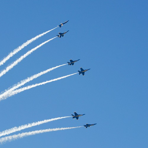 Blue Angels Delta goes in 6 different directions DSC_0472 (1) | by wbaiv