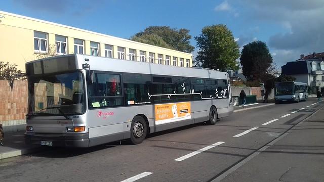 Transdev TRA Heuliez GX 317 9758 YZ 93 n°46838 & GX 327