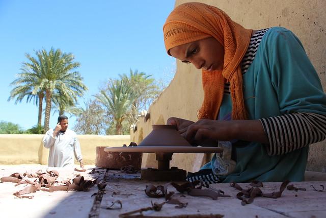 Evelyn school for pottery , Tunis village, Fayoum, Egypt