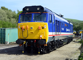50026 at Norden attending the Swanage 2014 gala.