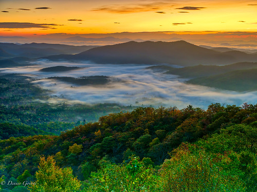brevard clouds landscape landscapemountain mountains northcarolina sunrise
