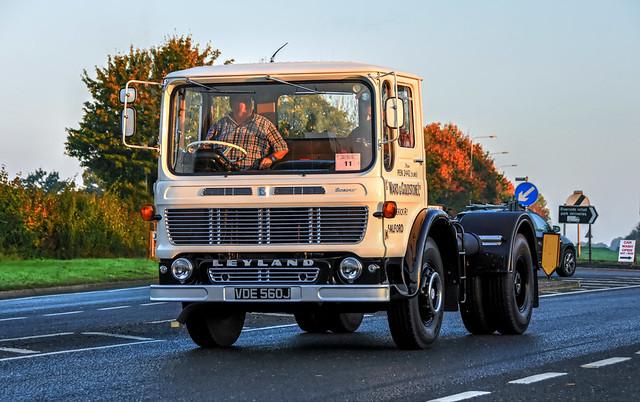 VDE560J Leyland Beaver Ward and Goldstone Ltd