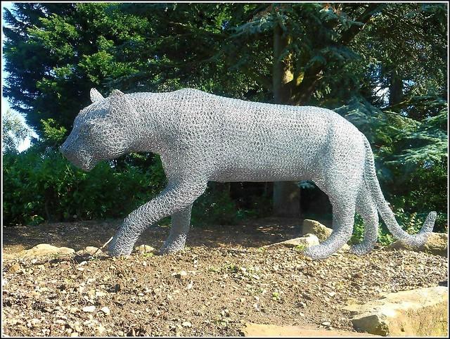 Big Cat  Sculpture ..