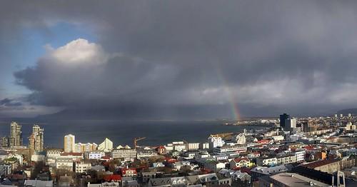 Reykjavik rainbow