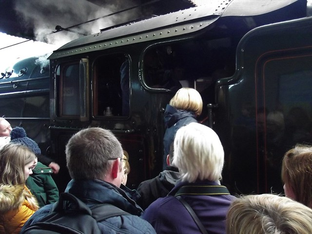 The Train Standing on Platform 10