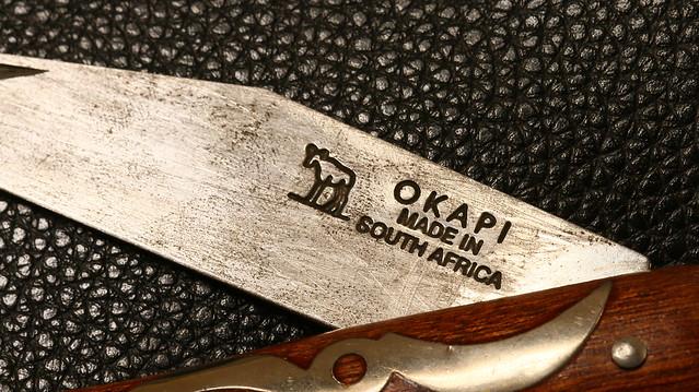 An Old OKAPI Knife