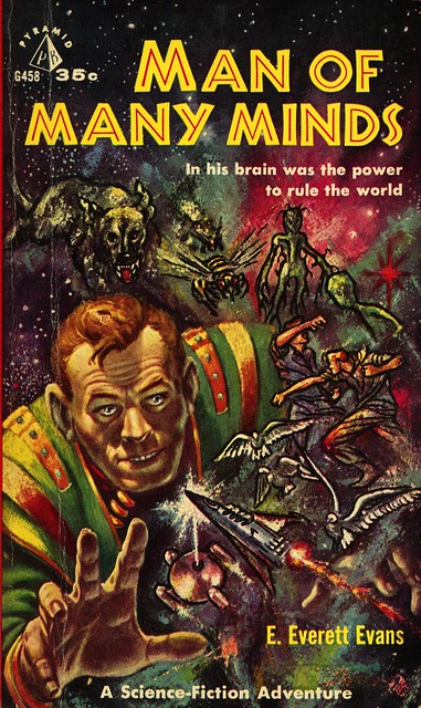 Pyramid Books G458 - E. Everett Evans - Man of Many Minds