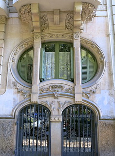 Free-form window, Barcelona   by Spencer Means