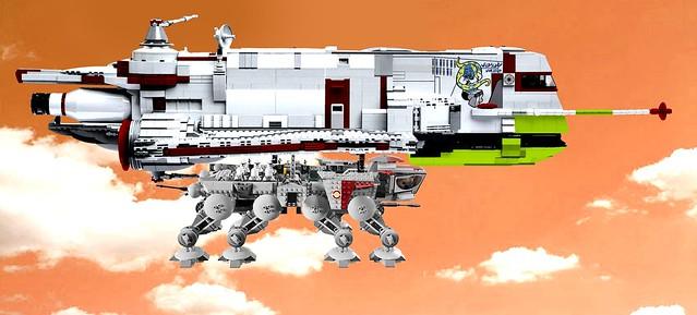 Gozanti-class Cruiser - Clone Wars