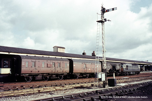 britishrailways lms stove r 6wheel passengerbrake m32944m lner bz brakevan e70700e npcs crompton type3 class33 andover hampshire train railway locomotive railroad