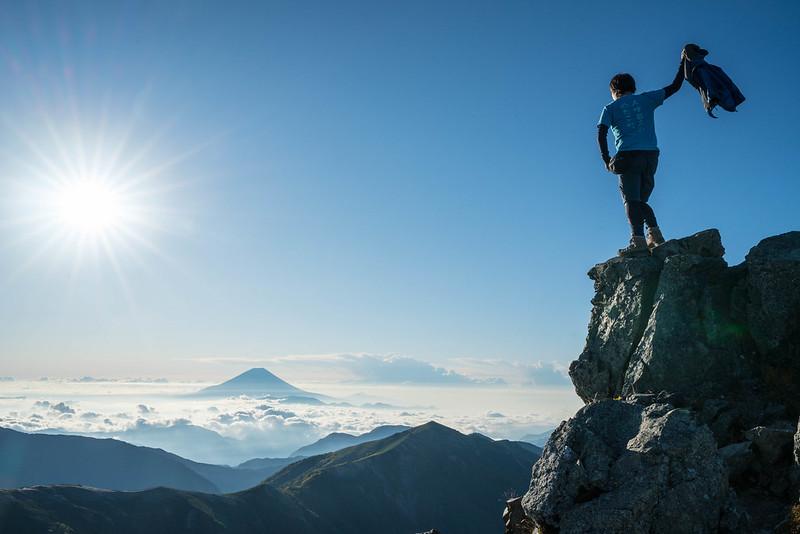 塩見岳 登山