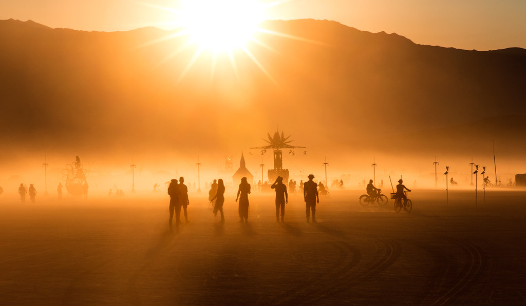 Burning Man 2017 | Sunset