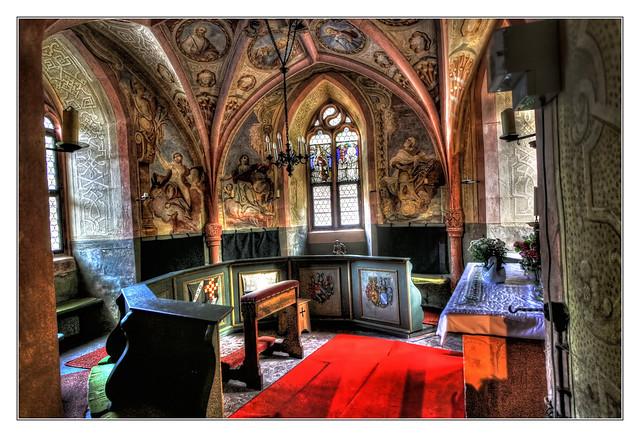 Mespelbrunn - Schloss Mespelbrunn Kapelle