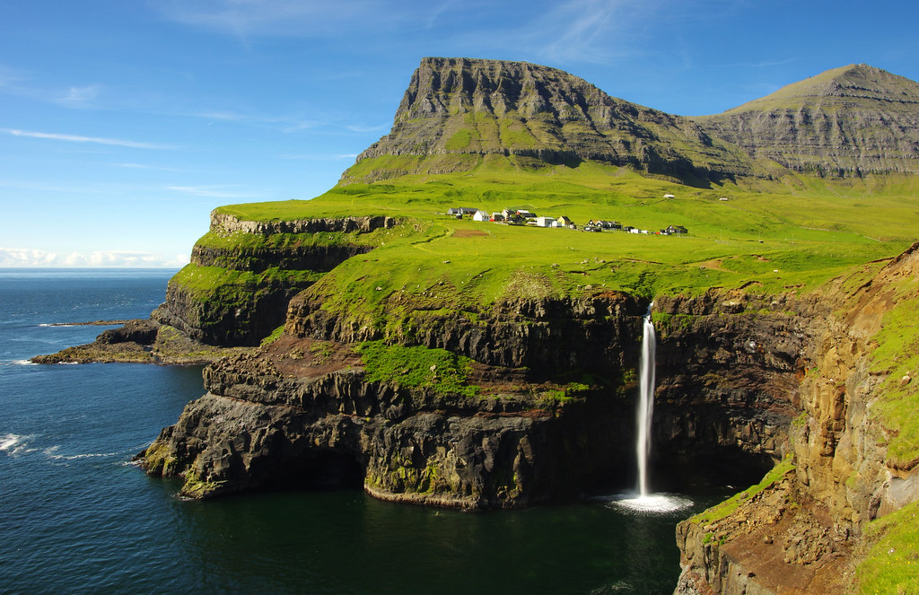 Gásadalur & its Mulafossur Waterfall | The Faroe Islands are… | Flickr