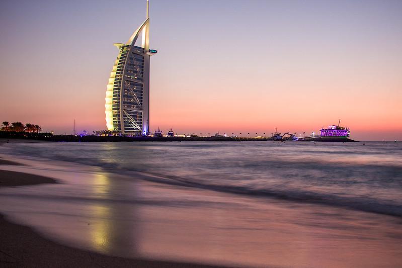 Burj Al Arab depuis Jumeirah beach