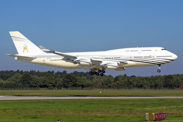 Boeing 747-430 - V8-ALI - HAJ - 01.10.2015 (3)